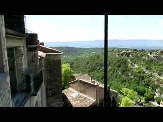 View from cafe in Gordes
