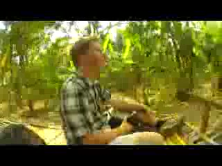 Battambang, Cambodja: Bamboo Train