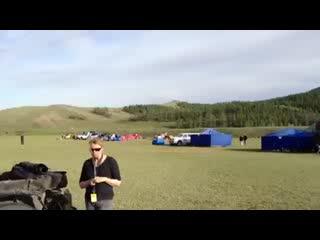 Провинция Булган, Монголия: Camp Bulgan - What a view