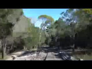 The road out of Deepwater NP - Video