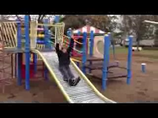 Dubbo, Australia: Roller slide at Gunnedah