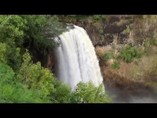 Kilauea, هاواي: Wailua falls