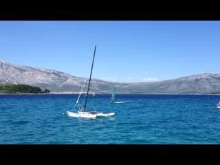 Lumbarda, Croacia: Freestyle - Bruno - windsurfing