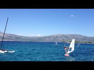 Windsurfing at Freestyle, Lumbarda