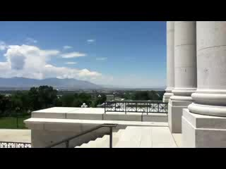 Wendover, UT: View from Capital steps
