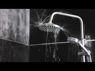 Lotus Villas & Resort Hua HIn: Black Lotus Shower