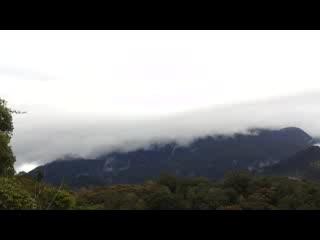 Mile 36 Lodge: Morning Kinabalu