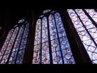 Παρίσι, Γαλλία: Interior ceiling of La Saint Chapelle