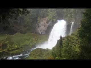 Horse Creek Lodge & Outfitters: Sahalie Falls