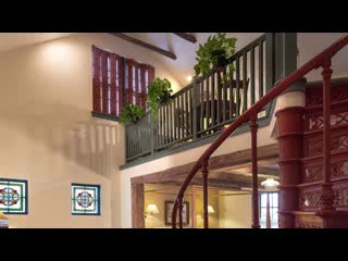 Cedarburg, WI: Deluxe King Suite at Washington House Inn