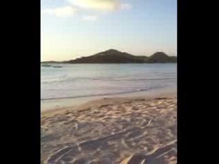 Jolly Beach Resort & Spa: Jolly Beach at Sunset