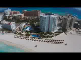Krystal Grand Punta Cancun: Krystal Grand Punta with a DJI Phantom 2 Vision Plus Drone