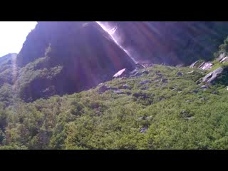 Gros Morne National Park, แคนาดา: Waterfall