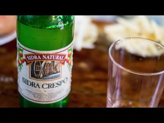 La Tasca del Corral: Sidra Natural - Spanish cider served the traditional way