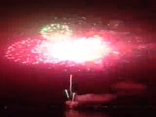 Fireworks over Grand Lake