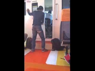 Marina Srikandi Fast Boat: Captain playing load music going full speed