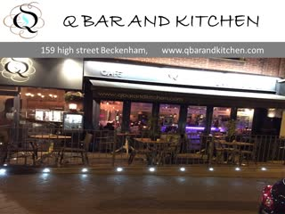 Q bar and kitchen video of beckenham greater london for Q kitchen pasta buffet