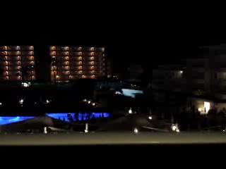Hipotels Coma Gran Aparthotel: Aparthotel Coma Gran - Karaoke noise