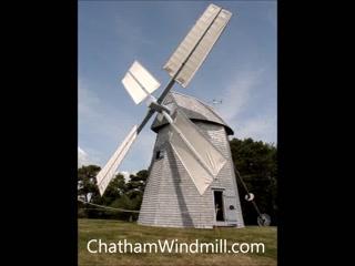 Chatham's Godfrey Windmill : Chatham Windmill in Operation