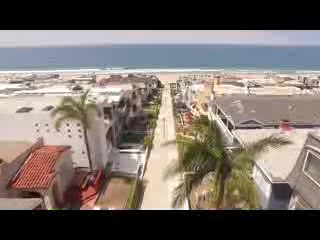Fantastic Aerial Video of Manhattan Beach