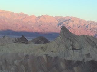 Death Valley National Park, Kaliforniya: Zabrieski Point at Sunrise
