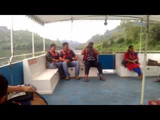 มุนนาร์, อินเดีย: Munnar boat ride