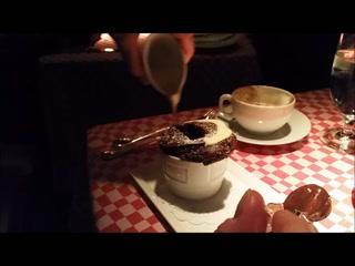 21 Club: Saint-Domingue Chocolate Soufflé