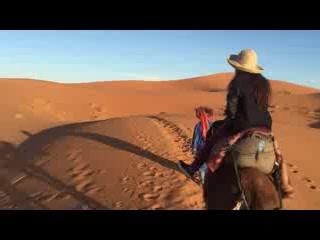 Moroccan Desert Trips: Day 1: Panoramic of Sahara Landscape