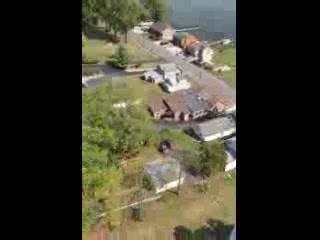 Seneca Falls, Nova York: Fly over of the Deerhead