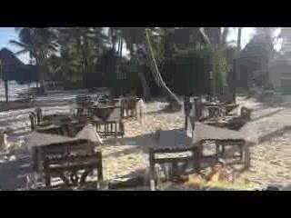 Echo Beach Hotel: Beach BBQ on Christmas Day