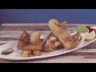 ليمريك شتراند هوتل: Fish and Chips at the Limerick Strand Hotel