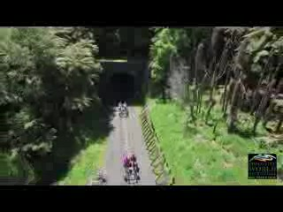 Taumarunui, นิวซีแลนด์: The RailBike - An active way to view the Forgotten World