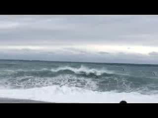 Hualien, Taiwan: waves at Chishingtan Scenic Area