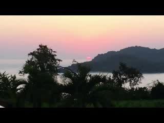 Azul Ixtapa Beach Resort & Convention Center: Sunset from our room