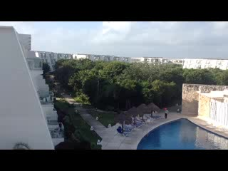 Grand Sirenis Riviera Maya Resort & Spa: View of the grounds from room 2949