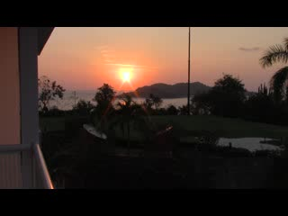 Azul Ixtapa Beach Resort & Convention Center: View from 3rd floor at sunset