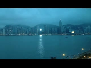 InterContinental Grand Stanford: View from room Overlooking Hong Kong Harbor