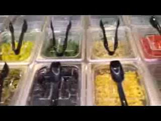 East Ellijay, GA: Fresh Ingredients Bar