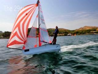 Fornells, สเปน: 29er Sailing - Minorca Sailing