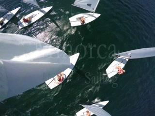 Fornells, สเปน: Laser Sailing - Minorca Sailing