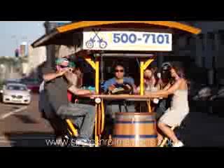 Memphis Party Bike