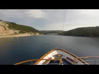 Black Point, Canadá: The Azimut docking in Croatia