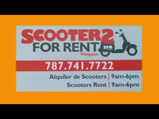 Isla de Vieques, Puerto Rico: Scooters for Rent The Big Experience