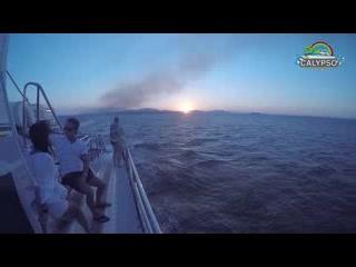 كوزميل, المكسيك: Travesía en el catamarán Manta Raya