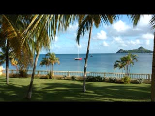 Rodney Bay, Saint Lucia: Beautiful tranquil scenert