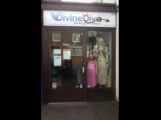 Winslow, UK: Divine diva fancy dress