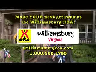 Williamsburg KOA Campground: Williamsburg KOA