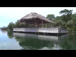 Isla San Cristobal, Panama : Out on the Water at Dolphin Bay Cabanas