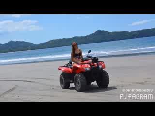 Playa Flamingo, Kosta Rika: ATV Mountain & Beach