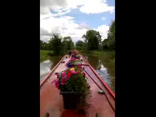 Stone, UK: Canal Boat Trip